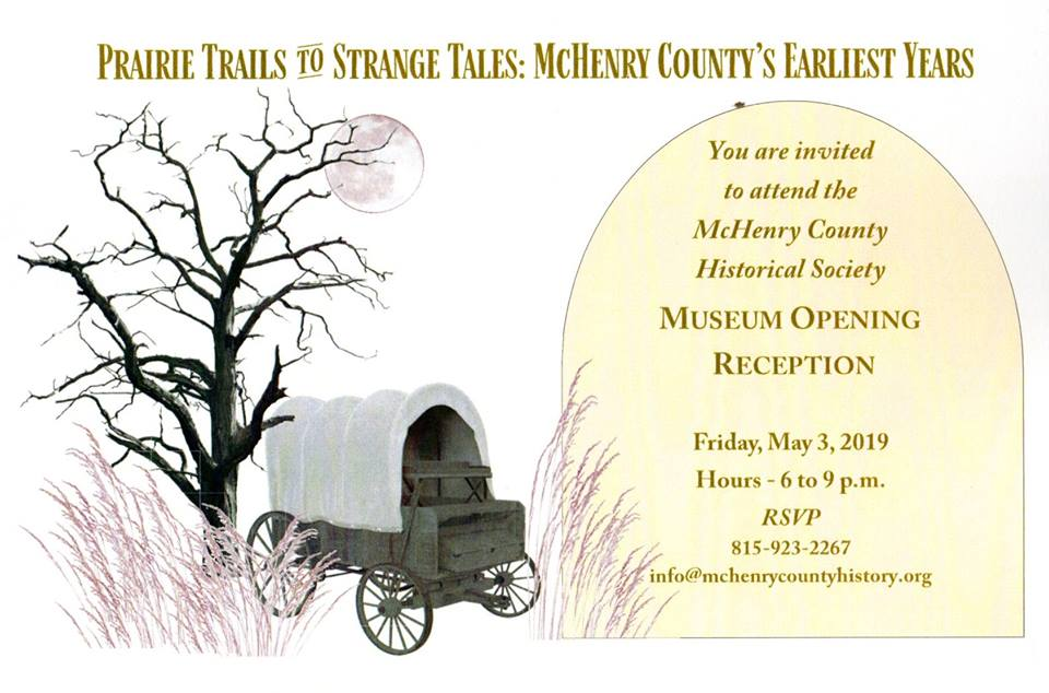 Museum Opening May 3 Mchenry County Historical Society