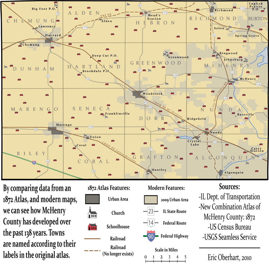 1872 History Map