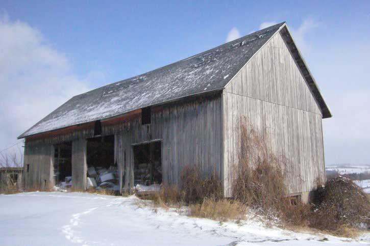 Three Bay Threshing Barn Mchenry County Historical
