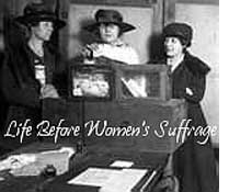 Before womans suffrage