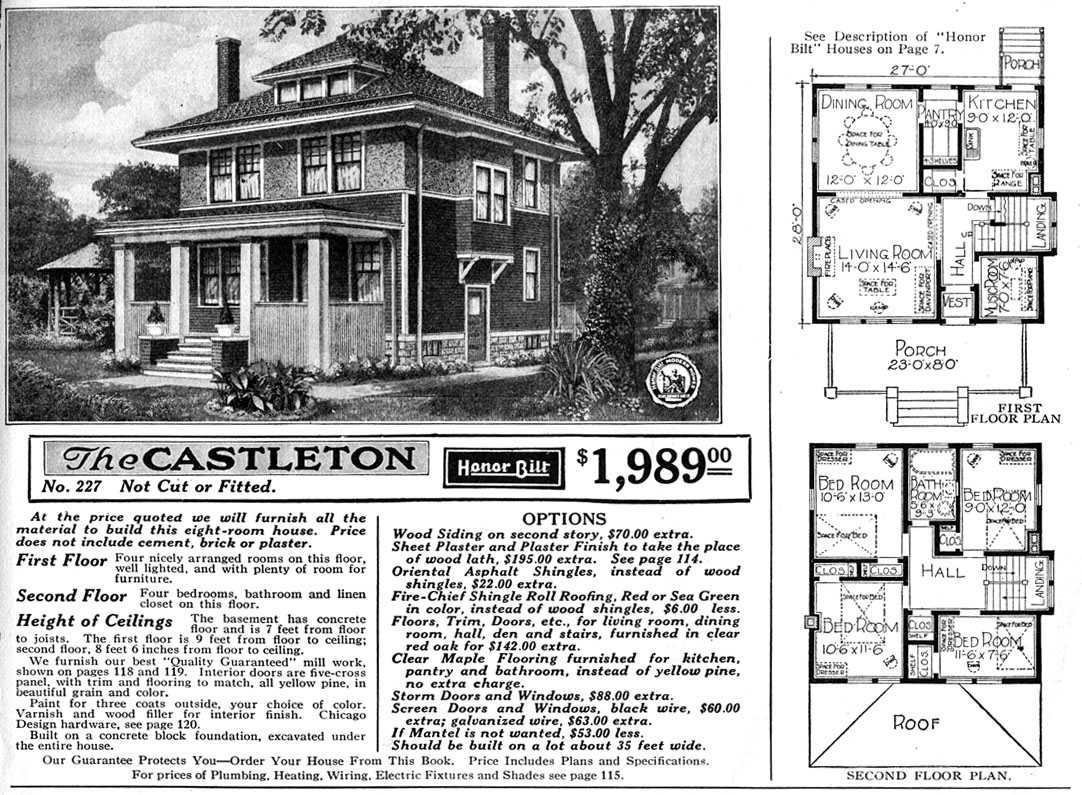 Sears Home Map of Crystal Lake | McHenry County Historical Society ...