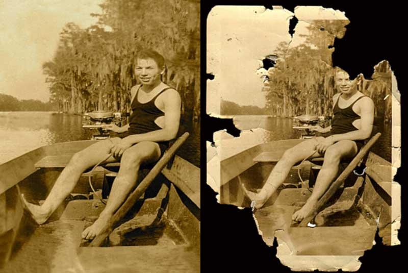 preservation of old photod
