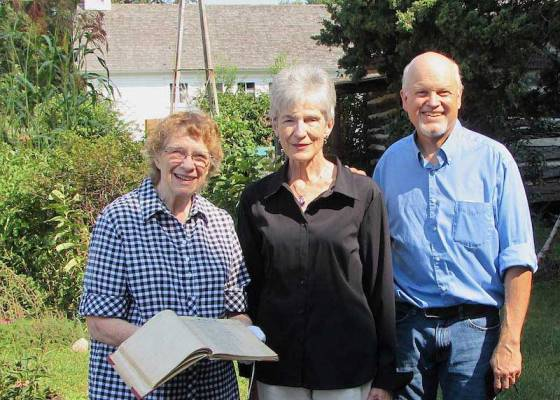 Polly Crandall adopts brinks notebook