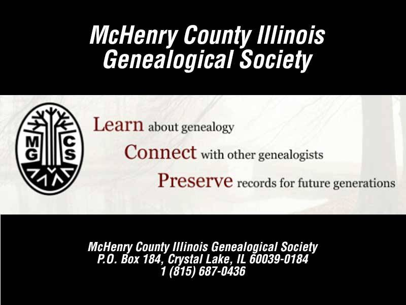 McHenry County Illinois Genealogical Society