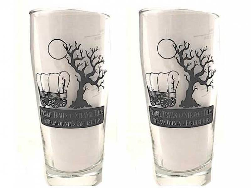 prairie tales beer glass